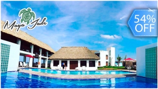 [Imagen:Day Pass hasta para 6 Personas: Playa Privada, Piscinas, Snacks y Bebidas.]