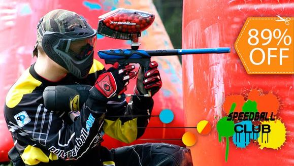 [Imagen:Paintball para 4 en Speedball Club]