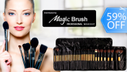 [Imagen:¡Paga Q249 en lugar de Q600 por Kit de 32 Brochas para Maquillaje de Magic Brush!]
