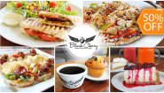 [Imagen:¡Paga $7 y Consume $14 en Todo el Menú de Black Cherry Coffee Shop and Lounge!]