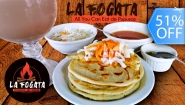 [Imagen:¡Paga Q49 en lugar de Q99 por All You Can Eat de Pupusas + Tongolele de Bebida Natural o Tarro de Cerveza de Barril!]